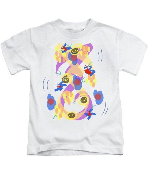 Abstract Garden #5 Kids T-Shirt