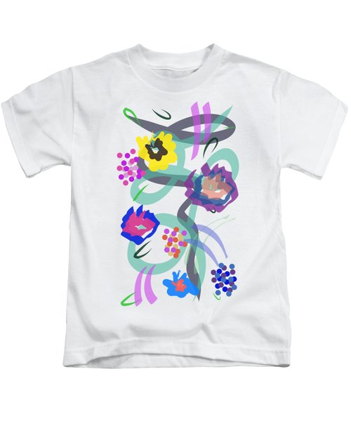 Abstract Garden Nr 4 Kids T-Shirt