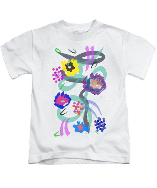 Abstract Garden Nr 4 Kids T-Shirt