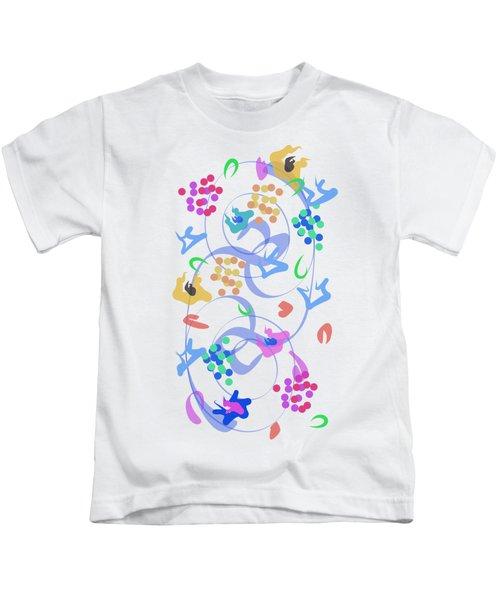 Abstract Garden Nr 6 Kids T-Shirt