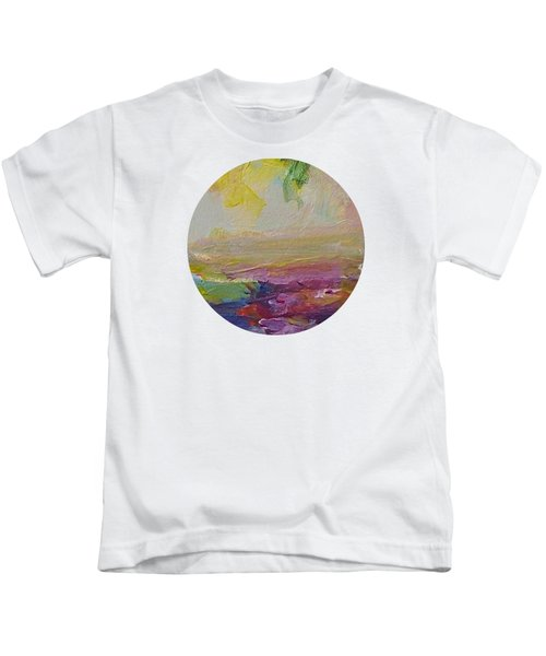 Abstract Impressions- Number 2 Kids T-Shirt