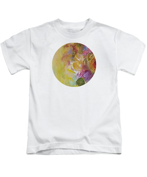 Abstract Impressions- Number 3 Kids T-Shirt