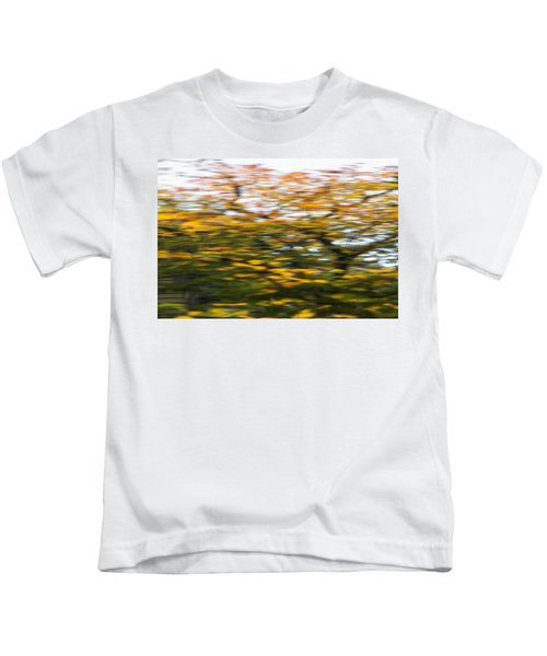 Abstract Of Maple Tree Kids T-Shirt