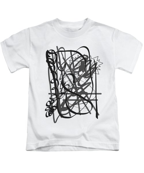 Abstract Kids T-Shirt by Oksana Demidova