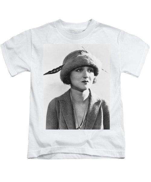 Actress Agnes Ayres Kids T-Shirt