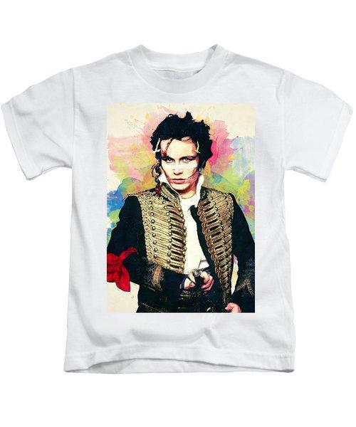 Adam Ant Kids T-Shirt