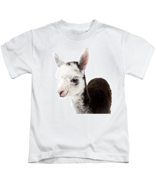 Adorable Baby Alpaca Cuteness Kids T-Shirt