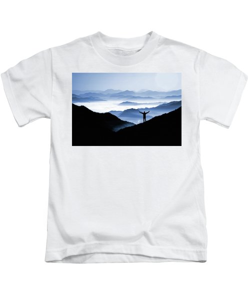 Adoration Of Natural Beauty Kids T-Shirt