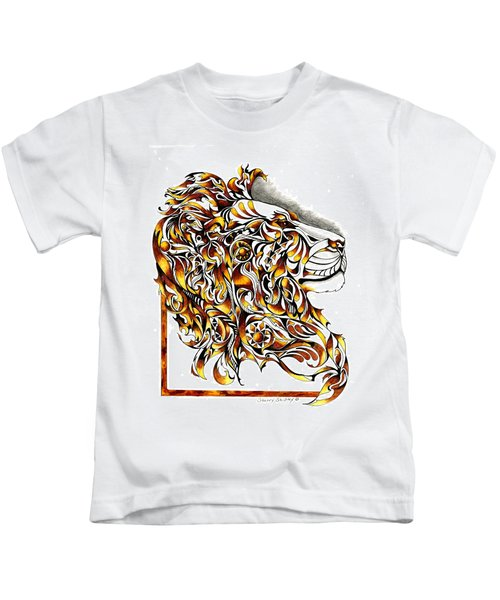 African Spirit Kids T-Shirt