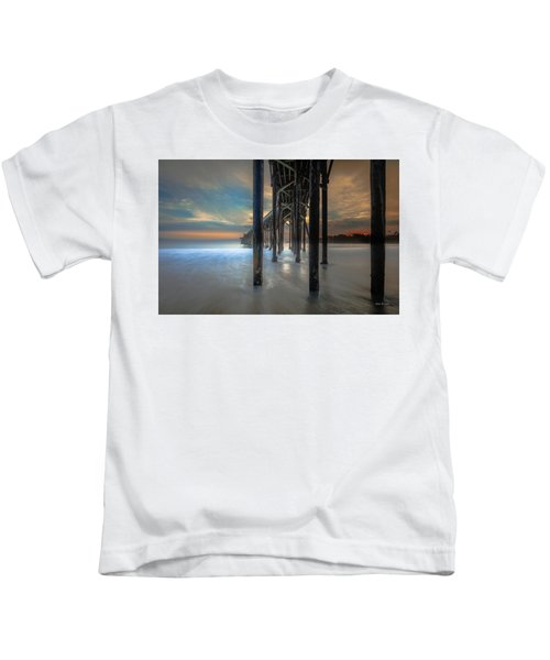 Afterglow At San Simeon Kids T-Shirt