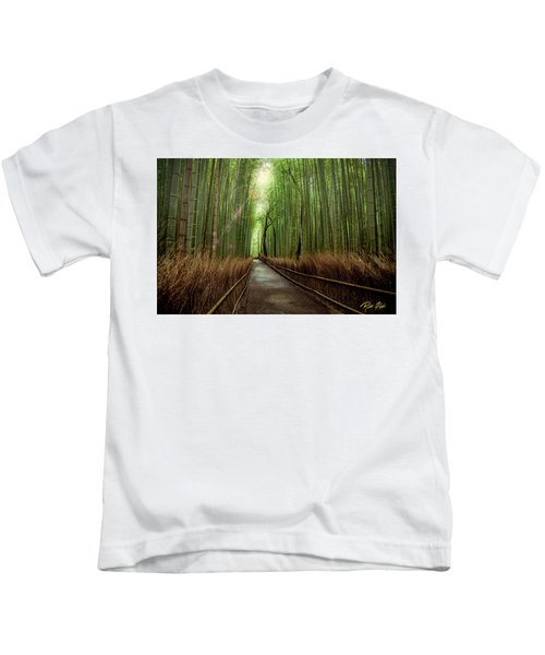 Afternoon In The Bamboo Kids T-Shirt