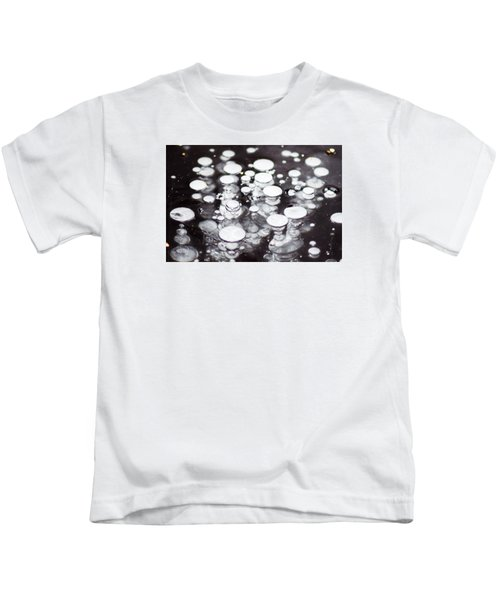 Air Trapped In Ice Kids T-Shirt