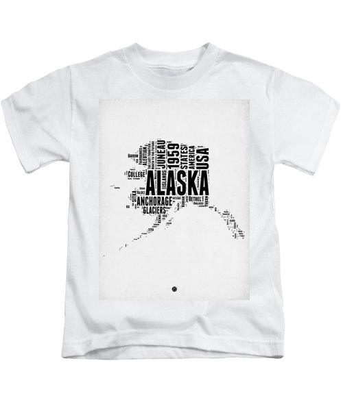 Alaska Word Cloud 2 Kids T-Shirt
