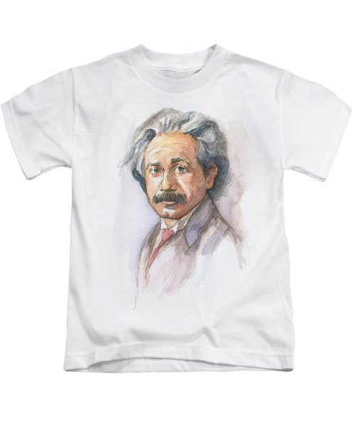 Albert Einstein Kids T-Shirt
