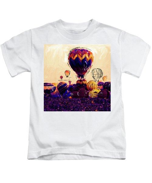 Albuquerque International Balloon Fiesta 252 2 Kids T-Shirt