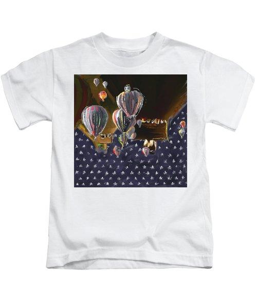 Albuquerque International Balloon Fiesta 5 256 3 Kids T-Shirt