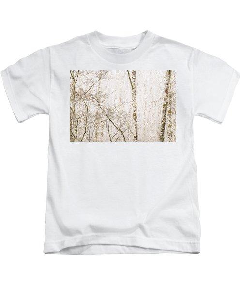 Alders In The Fog Kids T-Shirt