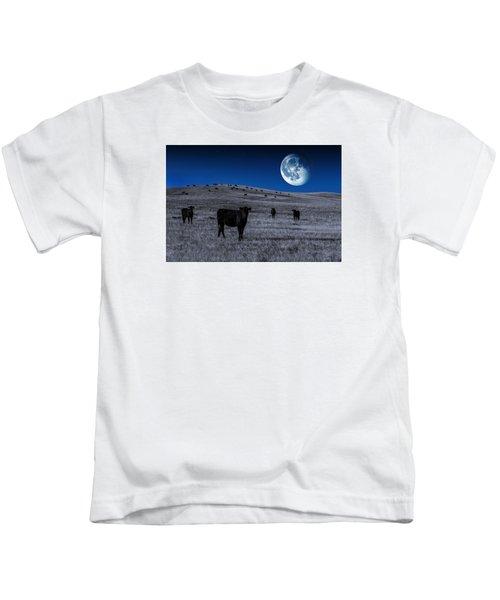 Alien Cows Kids T-Shirt