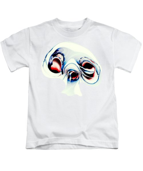 Alien Puppy Kids T-Shirt by Anastasiya Malakhova