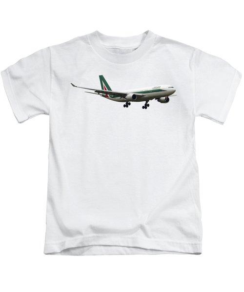 Alitalia, Airbus A330-202. Kids T-Shirt