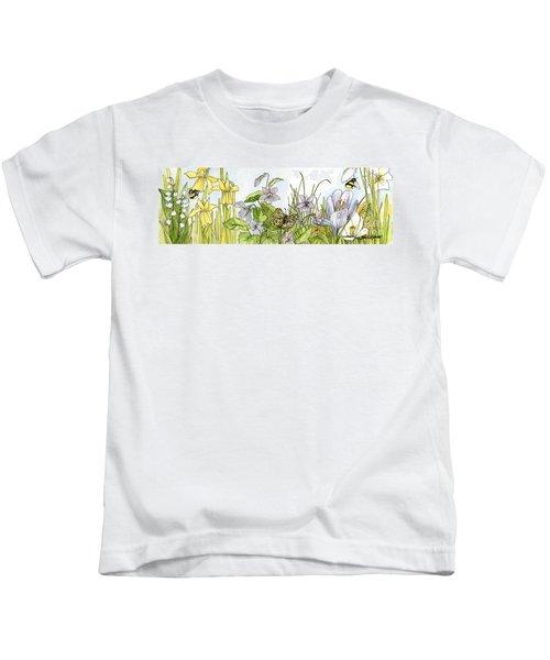 Alive In A Spring Garden Kids T-Shirt