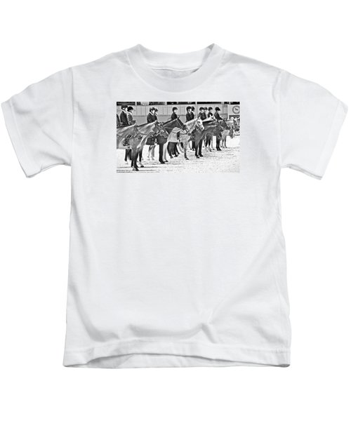 All Lined Up Kids T-Shirt