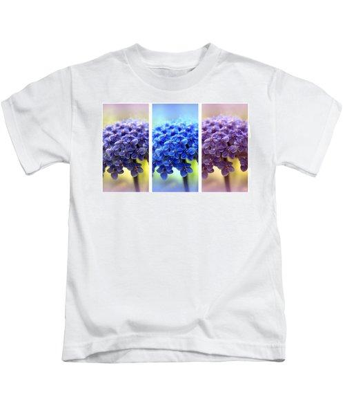Allium Triptych Kids T-Shirt