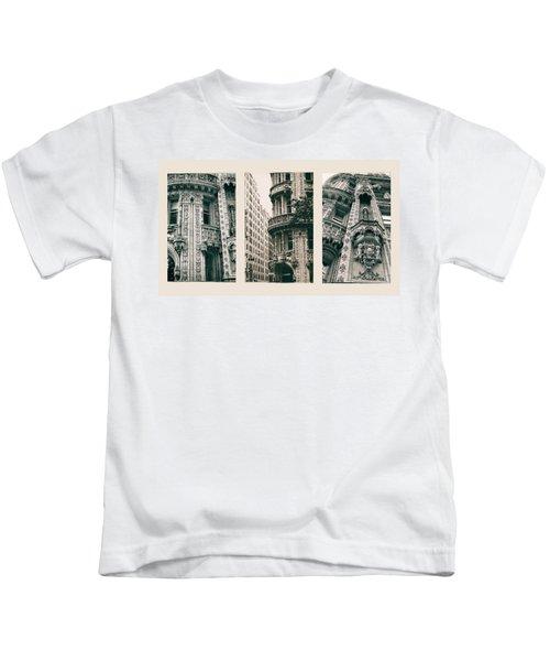 Alwyn Court Triptych Kids T-Shirt
