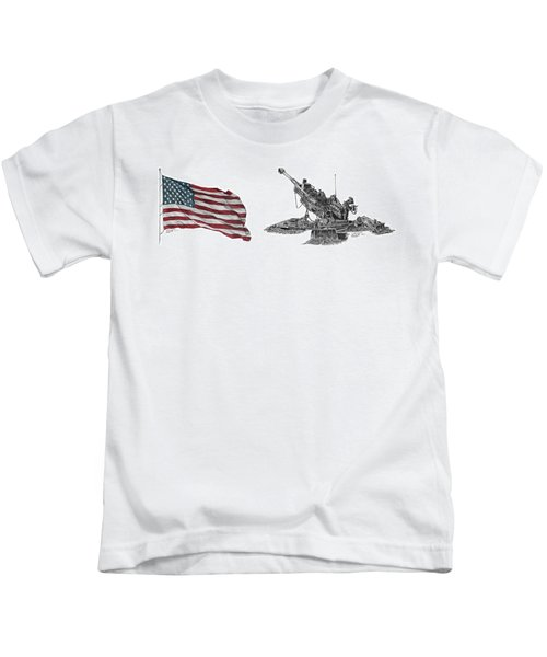 American Artillery Kids T-Shirt