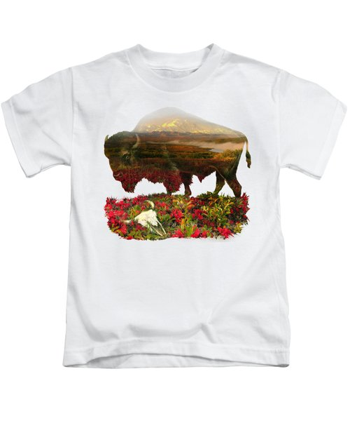 American Buffalo Kids T-Shirt