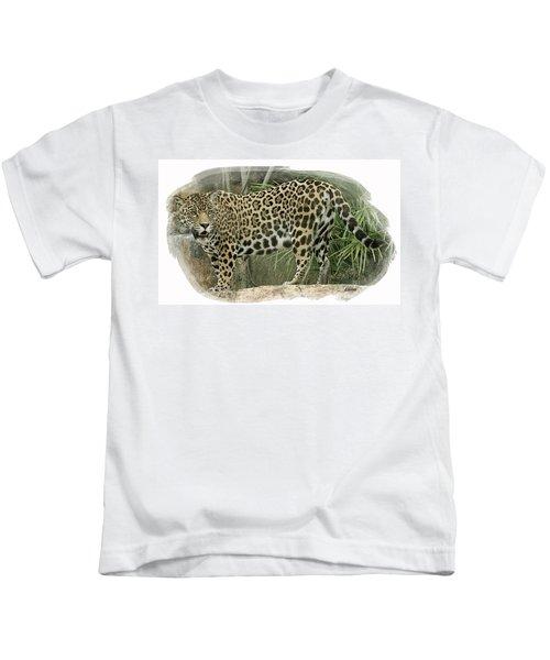 American Jaguar 18 Kids T-Shirt