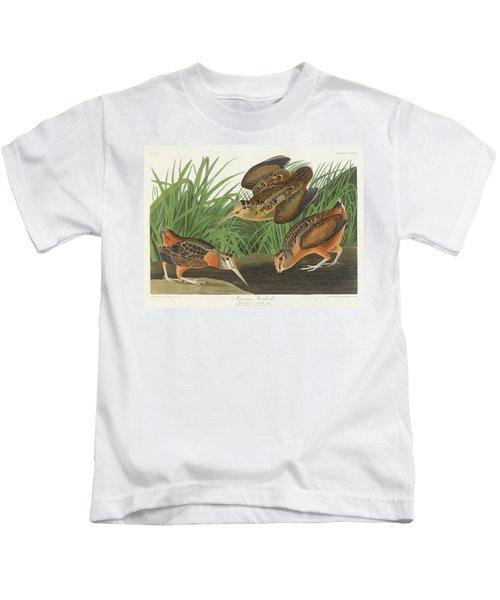 American Woodcock Kids T-Shirt by John James
