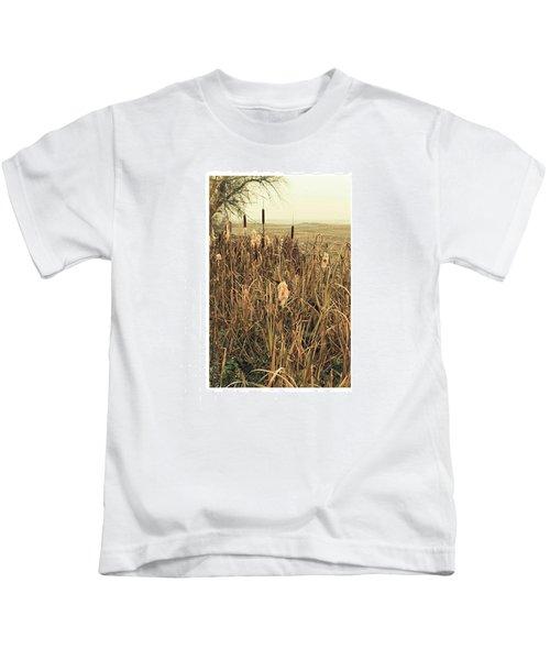*among The Reeds  #landscape Kids T-Shirt