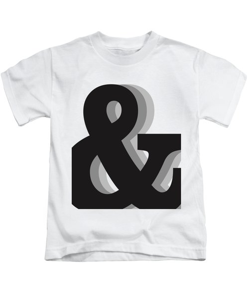 Ampersand - And Symbol 1 - Minimalist Print Kids T-Shirt