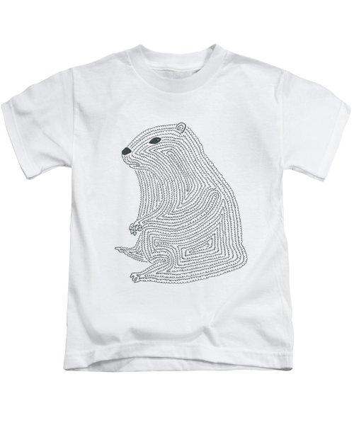 An Elusive Marmot Kids T-Shirt