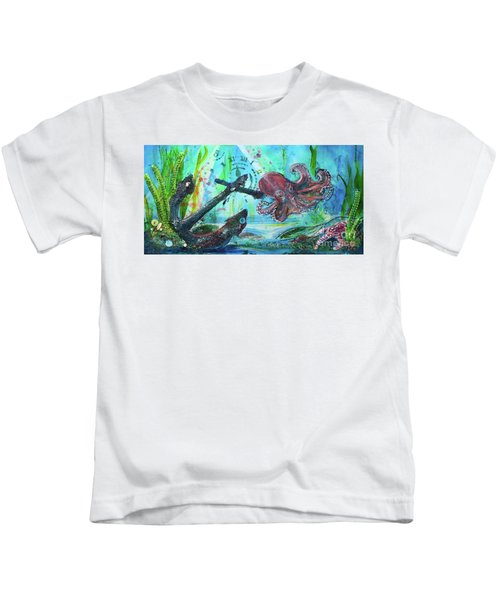 Anchors Away Kids T-Shirt