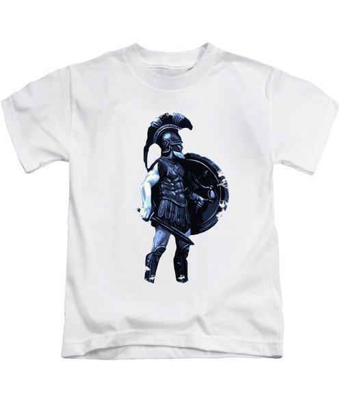 Ancient Spartan Hoplite Kids T-Shirt