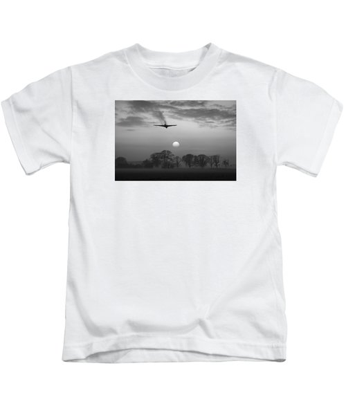 And Finally Black And White Version Kids T-Shirt