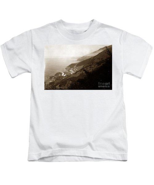 Anderson Creek Labor Camp Big Sur April 3 1931 Kids T-Shirt