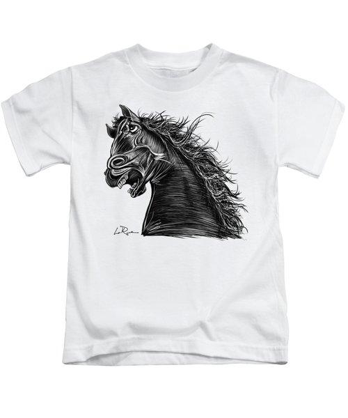 Defiant Horse Kids T-Shirt