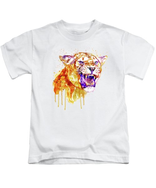 Angry Lioness Kids T-Shirt