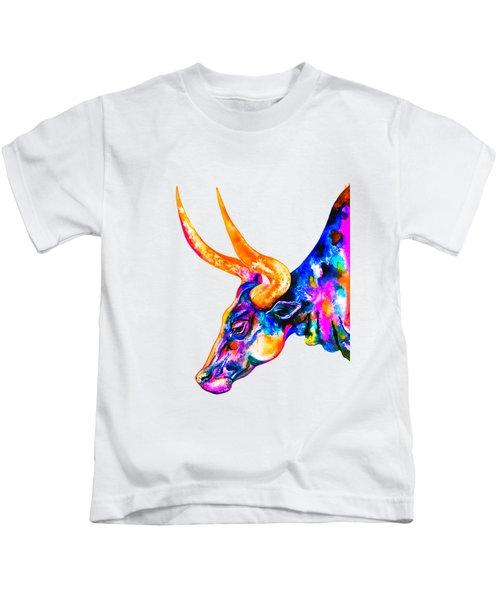 Ankole Longhorn Kids T-Shirt