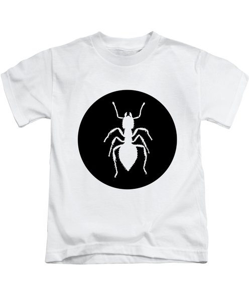 Ant Kids T-Shirt by Mordax Furittus