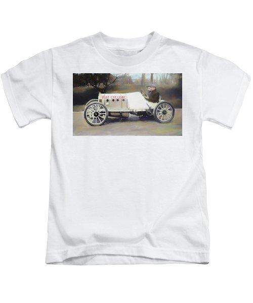 Antique Fiat Racer Dop Kids T-Shirt
