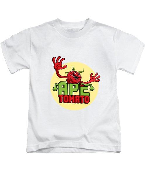Ape Tomato Kids T-Shirt by Nicolas Palmer