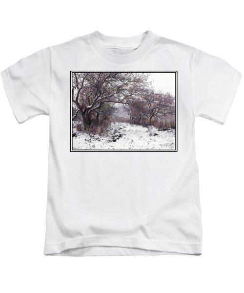 Apples Of The Asquamchumaukee Kids T-Shirt