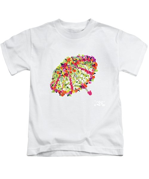 April Showers Bring May Flowers Kids T-Shirt