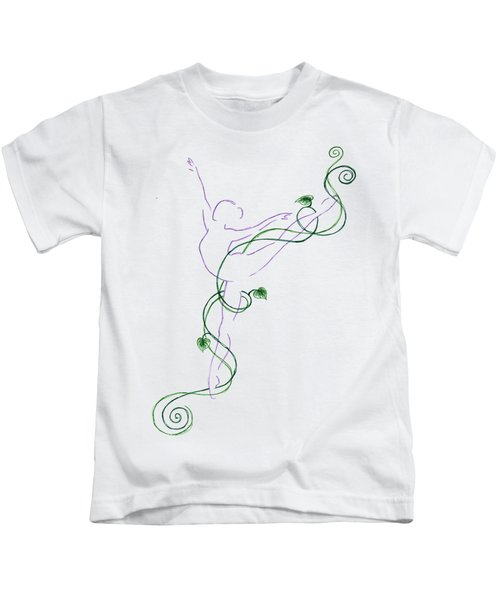 Arabesque IIi - Transparent Background Kids T-Shirt