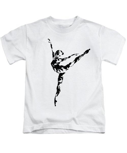 Arabesque - Transparent Background Kids T-Shirt