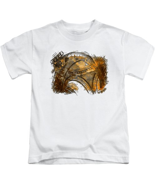 Arches Abound Earthy 3 Dimensional Kids T-Shirt